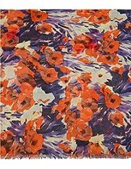 Boun Fashions Multi Color Full Printed Viscose Scarf