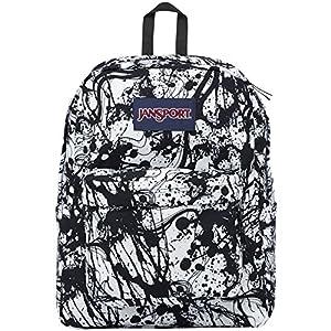 Jansport Superbreak 1550 Cu. In. Backpack W/Print 0JR.BLACKPAINTBALL OS