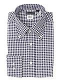 (ザ・スーツカンパニー) Special sewing/ボタンダウンカラードレスシャツ ギンガムチェック 〔EC・細身〕 ネイビー×ホワイト 39