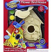 Flower Bird House