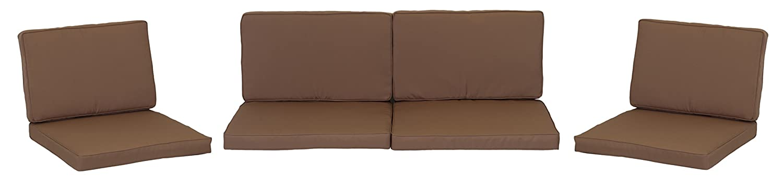 beo Loungekissen Ersatz für Monaco Set Gruppen Austauschkissen wasserabweisend Set mit 8 Kissen, 5 cm dick, sand bestellen