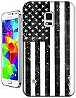 Sangu the American Flag Black/white Normal Hard TPU Samsung Galaxy S5 Case
