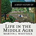 A Brief History of Life in the Middle Ages: Brief Histories Hörbuch von Martyn Whittock Gesprochen von: John Telfer