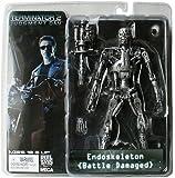 Neca - Figurine Cult Classics Terminator 2 Endoskeleton battle damaged