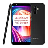 Tiean LEAGOO M9 3G Phablet 5.5 inch Android 7.0 MTK6580A Quad Core 1.3GHz 2GB 16GB (Black)