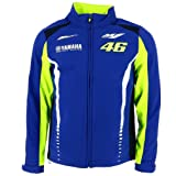 Valentino Rossi VR46 Moto GP M1 Yamaha Racing Soft Shell Jacket Official 2017