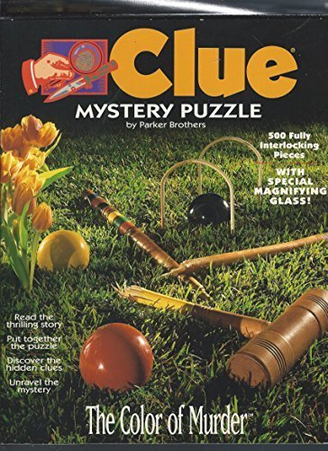 Clue Mystery Puzzles