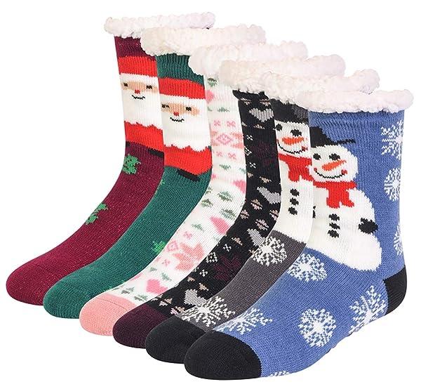 New Womens Unicorn Knit Slipper Socks Fleece Lined Fits Shoe size of 4-10