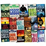 Alex Cross Series Collection James Patterson 17 Books Set Pack RRP: �230.84 (London Bridges, The Big Bad Wolf, Cross Fire, Double Cross, Cross, Mary, Mary, Kiss The Girls, Jack & Jill, Four Blind Mice, Violets are blue, Roses are Red, Pop Goes the weasel, Cat and Mouse, Along came a Spider, Cross Country, I, Trial)by James Patterson