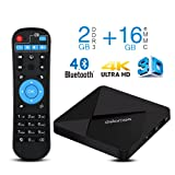 4K Android TV Box , DOLAMEE D5 Quad-core 2GB RAM 16GB ROM2.4G WIFI Media Player Support Bluetooth 4.0