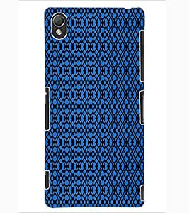 ColourCraft Pattern Design Back Case Cover for SONY XPERIA Z3