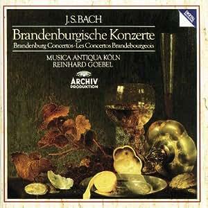 Bach: Brandenburg Concertos/Brandenburgische Konzerte/Los Concertos Brandebourgeois