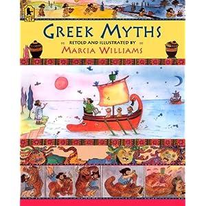 greek myths marcia williams 9780763653842 books   amazon ca