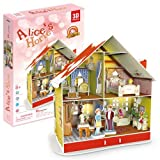 3d Puzzle - Alice's Christmas house LED