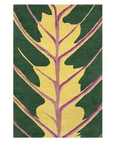 Filament Coreen Rug, Green/Yellow, 5' x 7' 6'