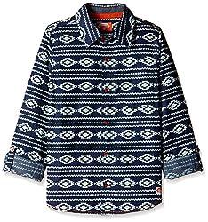 Nauti Nati Boys Shirt (NAW16-805B-7Y-Blue)
