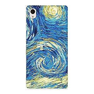 Cute Modern Color Print Back Case Cover for Sony Xperia M4