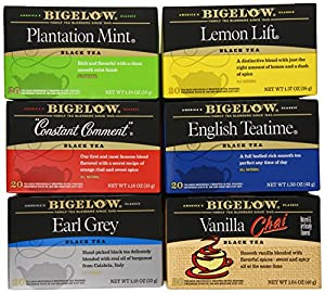 Bigelow Mixed Black Teas, 120 Count by Bigelow