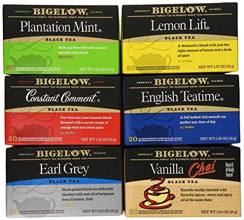 Bigelow Mixed Black Teas, 120 Count