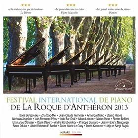 33�me Festival International de Piano de La Roque d'Anth�ron
