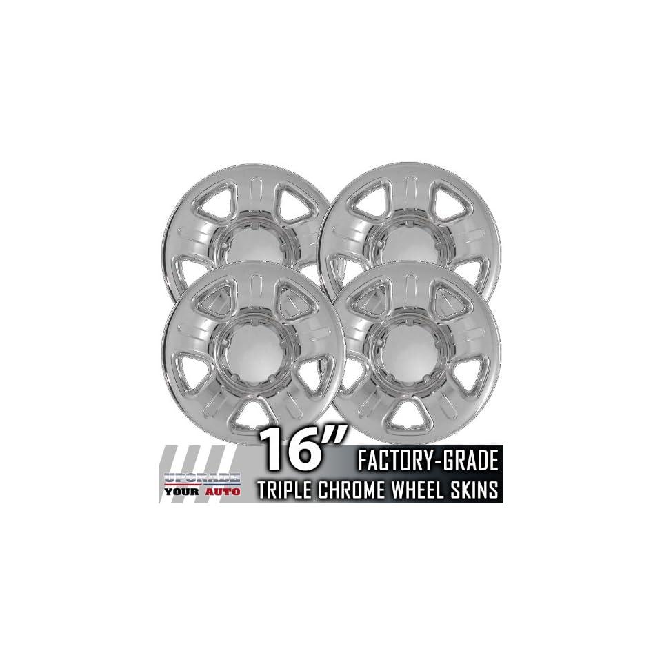 02 06 FORD EXPLORER 16 Chrome Wheel Skin Covers Automotive