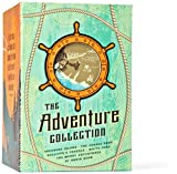 The Adventure Collection: Treasure Island, The Jungle Book, Gulliver&#39;s Travels, White Fang, The Merry Adventures of Robin Hood (The Heirloom Collection)