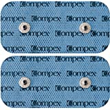 "Compex Easy Snap Performance Electrodes, 2"" x 4"" (Pack of 1 - 2 total)"