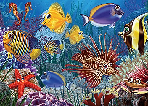 Cobble Hill Do Fish Ever Sleep Jigsaw Puzzle, 35-Piece