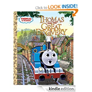 Thomas and the Great Discovery (Thomas & Friends) (Little Golden Book