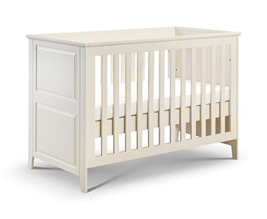 Cameo 3FT Single Cot bed Classic Style Converted to Toddler Bed Ivory
