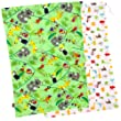 """Kushies """"On the Go"""" 2 Pack Wet Bag, Green  (Patterns and Colors May Vary)"""