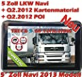 5 Zoll Neu Europa Lkw Truck Bus Taxi Navigationsgert Trucker Navi von webshoper