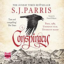 Conspiracy: Giordano Bruno, Book 5 Audiobook by S. J. Parris Narrated by Daniel Philpott