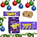 CADBURY TWIRL LOVERS FESTIVE HAMPER BY MORETON GIFTS