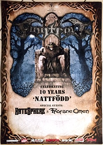 "Finntroll-Performing Nattfodd, 60 x 80 cm, motivo: manifesto/Poster """