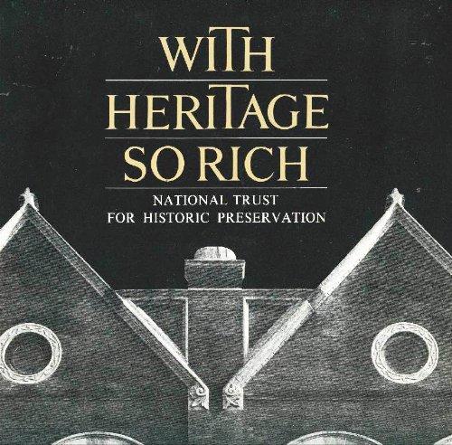 With Heritage So Rich (Landmark reprint series)