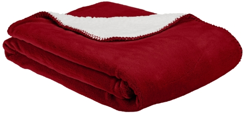 American Kennel Club Pet Throw, Red