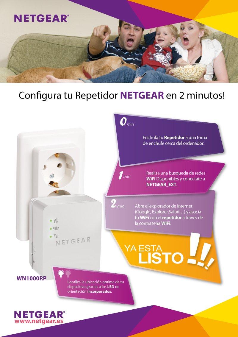 Netgear WN1000RP-100PES WLAN-Repeater