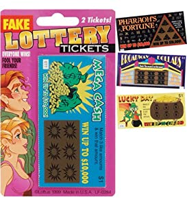 Fake Lottery Tickets - Magic Trick