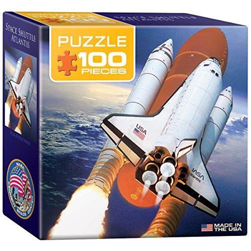 EuroGraphics Space Shuttle Atlantis Mini Puzzle (100-Piece)