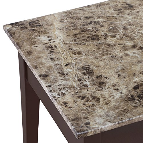 Best Faux Marble Coffee Table: Dorel Living Faux Marble Lift Top Coffee Table