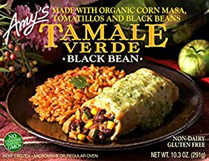 Amazon Com Amy S Black Bean Tamale Verde 10 3 Ounce