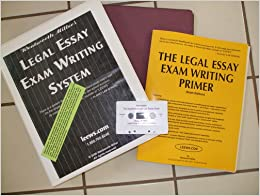 leews legal essay exam writing system cd audio program
