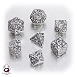 Q-workshop Forest Dice Set - White & Black