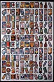 Topps Wacky Packages 1979 Mint Uncut Sheet 132 Stickers 2 Complete Sets of #1 to #66 cards 132 total in excellent condition