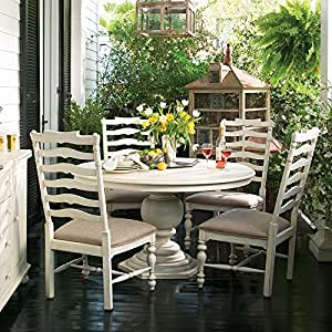 paula deen home pedestal dining set w mikes chairs