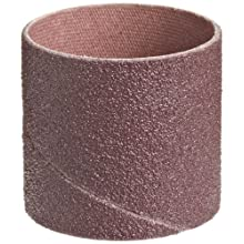 "3M  Cloth Band 341D, 1-1/2"" Diameter x 1-1/2"" Width, 80 Grit, Brown (Pack of 100)"