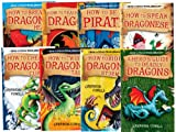 Cressida Cowell How to Train Your Dragon Collection, 8 Books, RRP £47.92 (How to be a Pirate; How To Speak Dragonese; How to Cheat a Dragon's Curse; How to Twist a Dragon's Tale; A Hero's Guide to Deadly Dragons; How to Ride a Dragon's Storm...) (Hiccup)