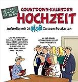 : Countdown-Kalender Hochzeit: Postkartenkalender - Standkalen