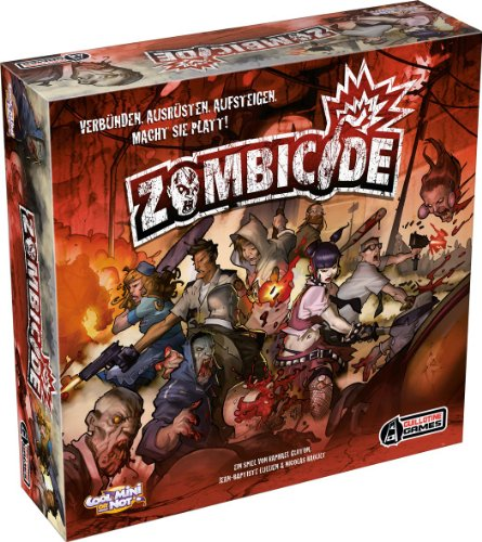 Asmodee 002106 – Cool Mini Or Not – Zombicide, Brettspiel